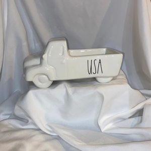 Rae Dunn 4th of July Vintage USA Truck